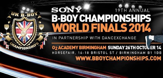 UK BBoy Championships 2014 World Final Judges Announced