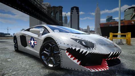 GTA IV 2012 Lamborghini Aventador LP700 4 USAF Crash Testing HD   YouTube