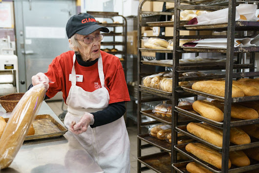 She's no loaf: At 94, she works 6 days a week at a Giant bakery | We The People