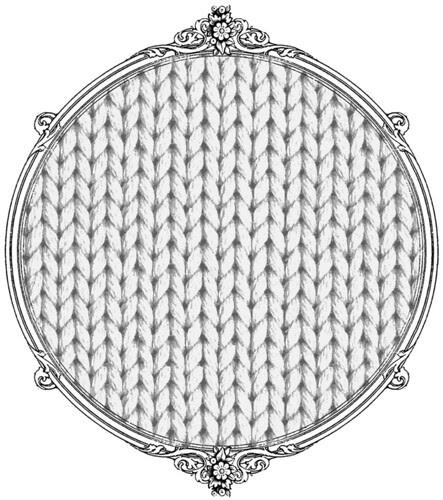 light grey knitting paper SAMPLE