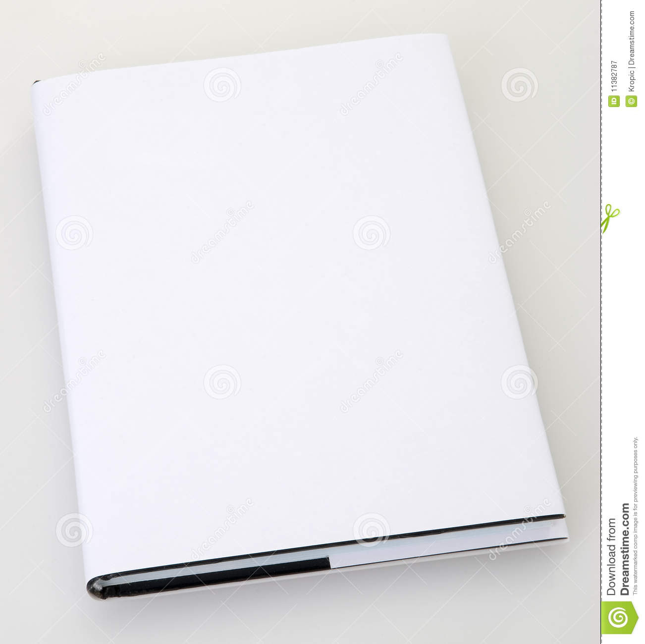 Blank Book Cover Royalty Free Stock Photography - Image: 11382787