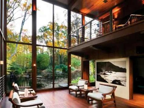 modern home designs relaxing house  meditative view