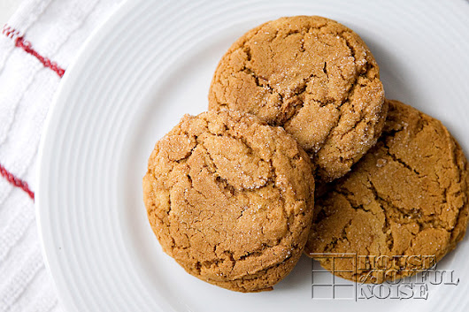 Olivia's Scrumptious Ginger Cookies | Printable Recipe |