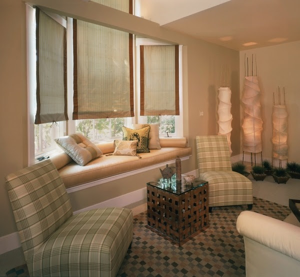 16 Attractive Window Seat Designs For Pleasant Relaxation: Wallpaper Bedroom Design Ideas