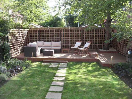 Landscaping Ideas For Wooded Backyard | Interior Home Design on ideas for muddy backyards, ideas for sloping backyards, ideas for sloped backyards,