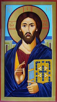 Click To Enlarge, Orthodox icon by Iconographer Tamara
