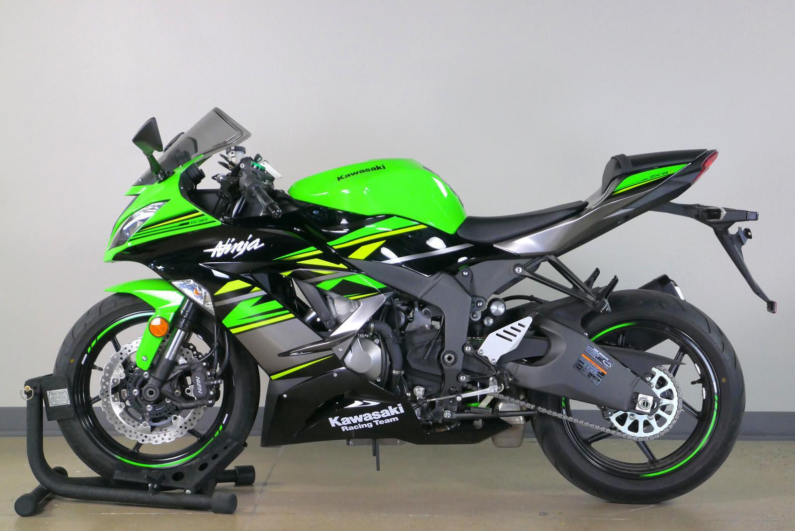 2018 Kawasaki Ninja Zx 6r Abs Krt Edition For Sale In