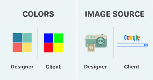 11 Differences Between Designers And Clients Show Why They Will Never Understand Each Other