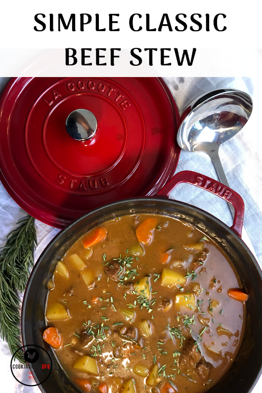 Simple Classic Beef Stew