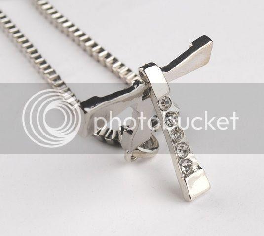 Vin Diesel Cross Necklace: Cross Charm