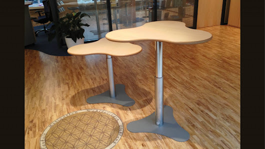 Stehtisch Brecky-Table pt7by09-Mp BT: 962x894mm - Vital-Office