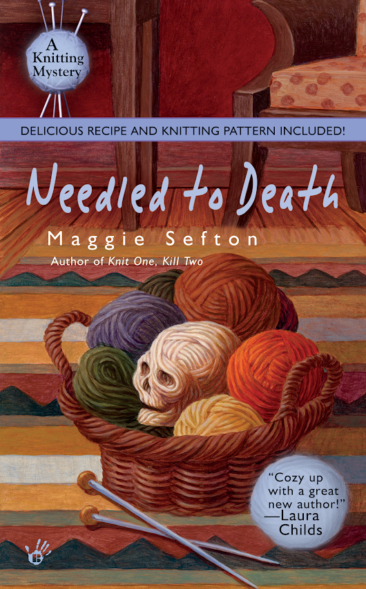 Crafty Audiobook Review: Needled to Death: A Knitting Mystery, Book 2 | Red-Handled Scissors