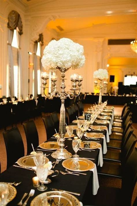 54 Black, White And Gold Wedding Ideas   Gold, Black and