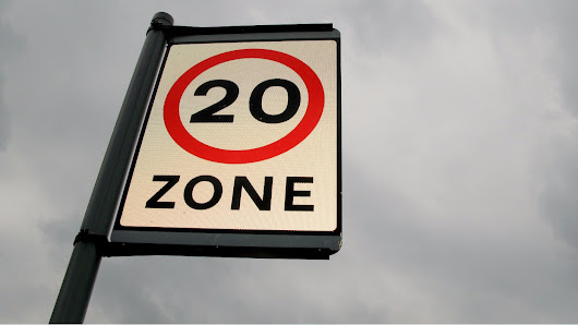 Over half of UK drivers admit to breaking the 20mph speed limit