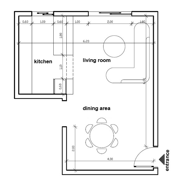 Trends For Dining Room Layout Plan Photos Home Decor S