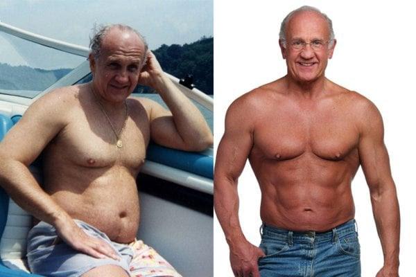 body fat percentage 50 year old male
