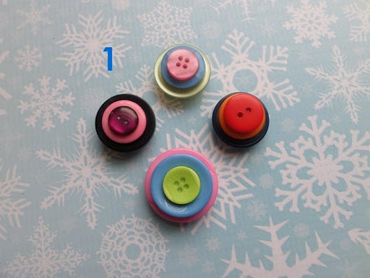 Colorful Stacked Button Magnets for Magnetic Whiteboards and Refrigerators