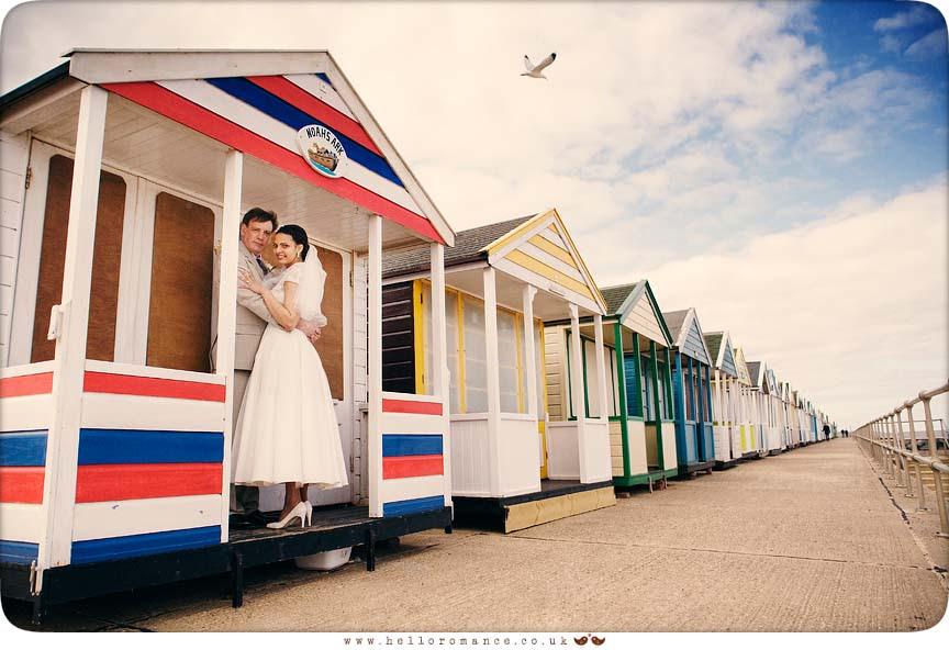 Southwold Wedding Photos, beach huts
