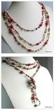 multiple photos of Leather necklace