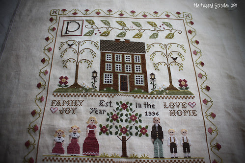 Little House Needleworks - Family Sampler 4