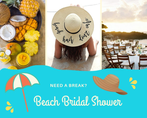 Beach Themed Bridal Shower Ideas Bridal Shower Ideas Themes