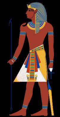 Pharaoh, the king of ancient Egypt, is often d...