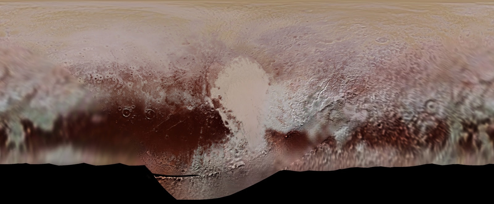 Pluto Global Color Map