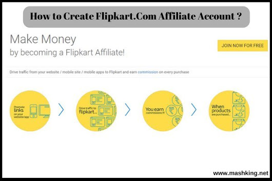 How to Create Flipkart.Com Affiliate Account: Updated 2018 - Must check ✅