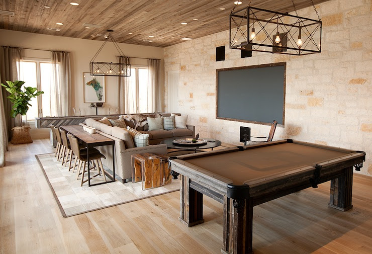 TV Room Ideas - Country - media room - Tracy Hardenburg Designs