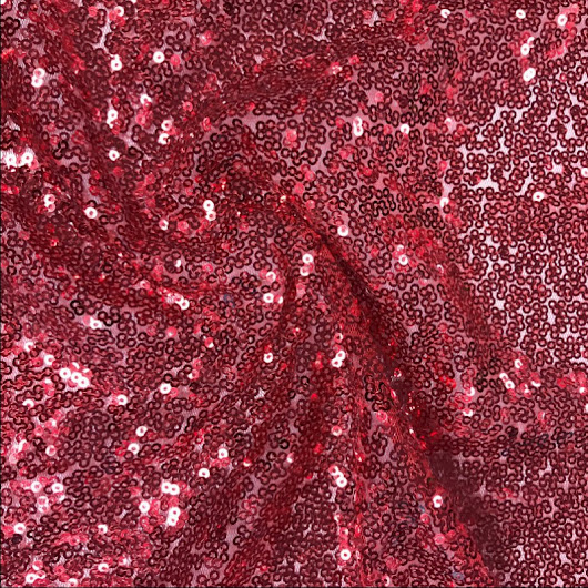 Sequin Fabric All over Sequins on Mesh
