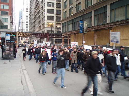 Chicago rally against Proposition 8