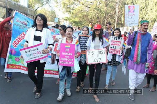 I am gay and it's ok, was the message of city's second pride march - Times of India