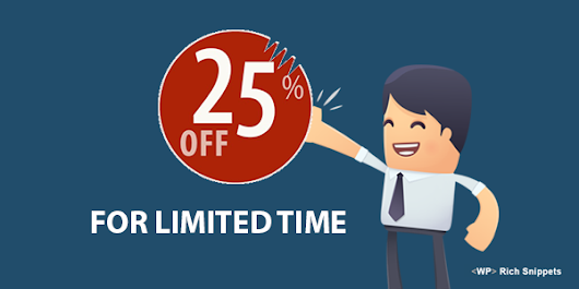 Save 25% On WPRichSnippets with this Limited Time Offer - Discount Code Inside