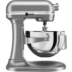 KitchenAid - KV25G0XSL Professional 500 5qt, 450 Watt Bowl Lift Stand Mixer - Silver