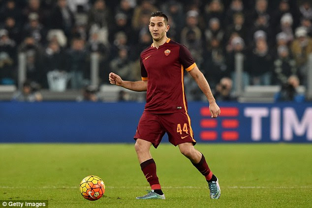 Roma centre back Kostas Manolas is being chased by Manchester United, Chelsea and Arsenal