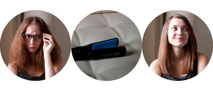 before and after, hair straightener, product review