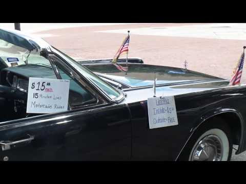 "Watch ""Replica of JFKs Presidential Limo in Dallas City Tour"" on YouTube"