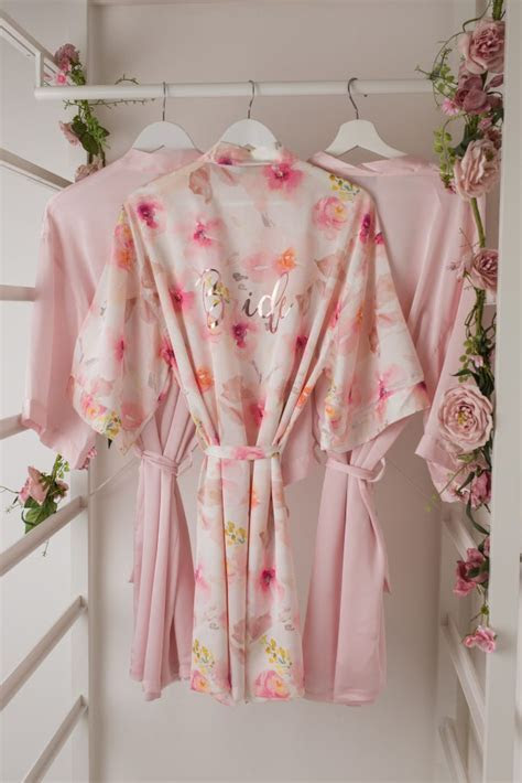 Introducing Our Range of Personalised Wedding Robes   The