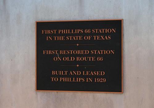 phillips 66 plaque