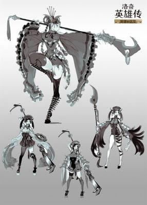 マビノギ英雄伝 LYNN イラスト2