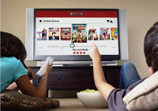 Netflix takes up 9.5% of upstream traffic on the North American Internet