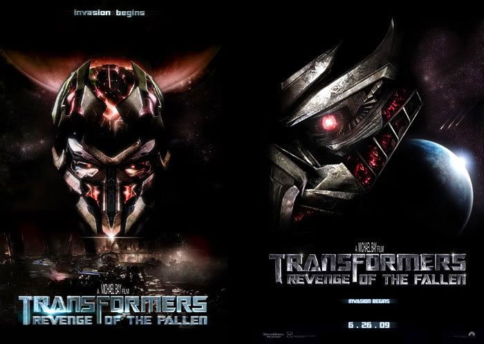 TRANSFORMERS 2 fan-made posters.