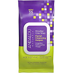 Andalou Naturals Facial Cleansing Swipes, Age Defying - 35 wipes