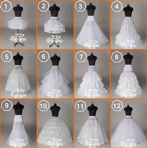 New 12 Styles Wedding Bridal/Hoops/Hoopless Petticoat