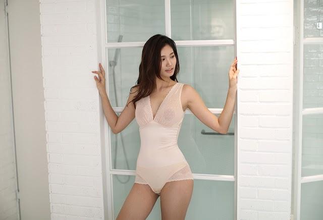 Lee Hee Eun - Cellulite Correction Brown Bralette Slip