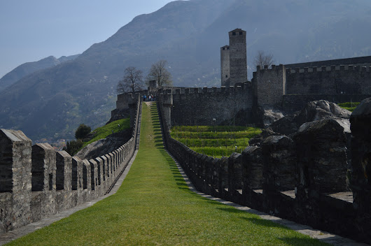 Bellinzona - Walls