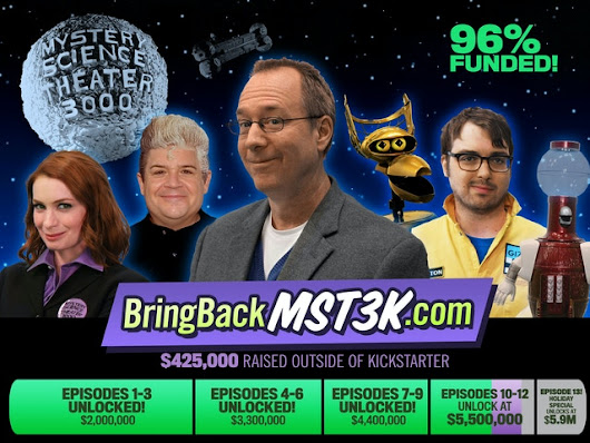 Bring Back MYSTERY SCIENCE THEATER 3000 by Joel Hodgson — Kickstarter