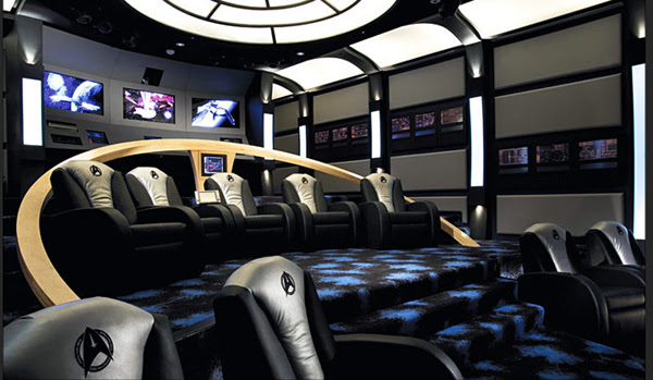 Top 5 Themed Home Theater Designs | InteriorHolic.