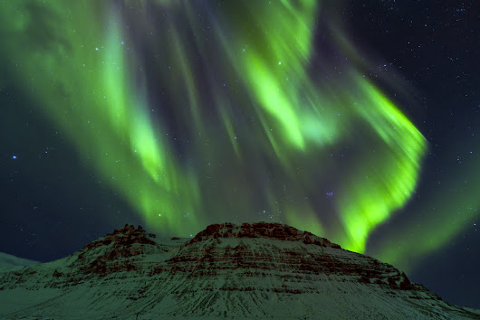 Exploding Northern Lights