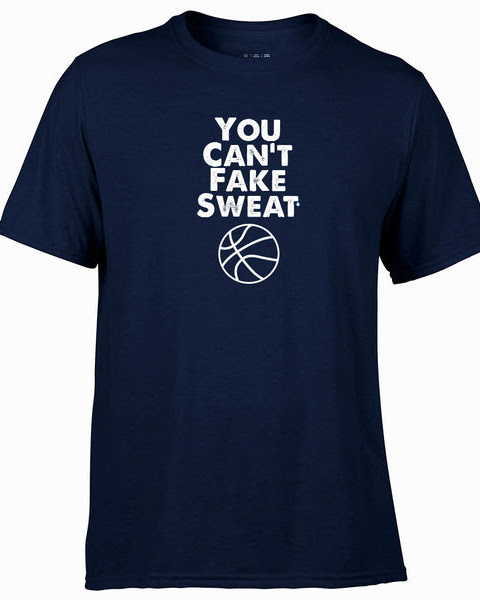 Hoops U You Can't Fake Sweat Performance T-Shirt Sale ends November 14th
